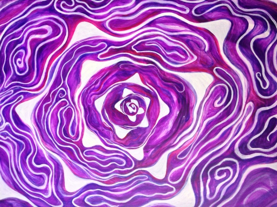 Fractal Cabbage by Dianna Tarr